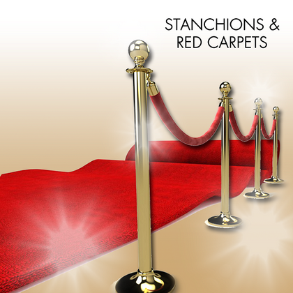 Stanchions & Red Carpets