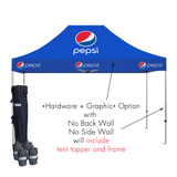10ft x 10ft Custom Canopy Pop Up Tent - Supreme Banners