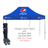20ft x 10ft Custom Canopy Pop Up Tent - Supreme Banners