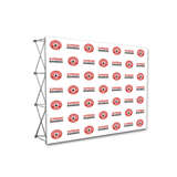 10ft x 8ft Pop Up Display Backdrop - Supreme Banners