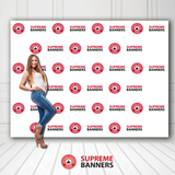 10ft x 8ft Custom Vinyl Backdrop (Banner Only) - Supreme Banners