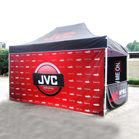 15ft x 10ft Custom Canopy Pop Up Tent - Supreme Banners
