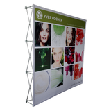 8ft x 8ft Pop Up Display Backdrop - Supreme Banners