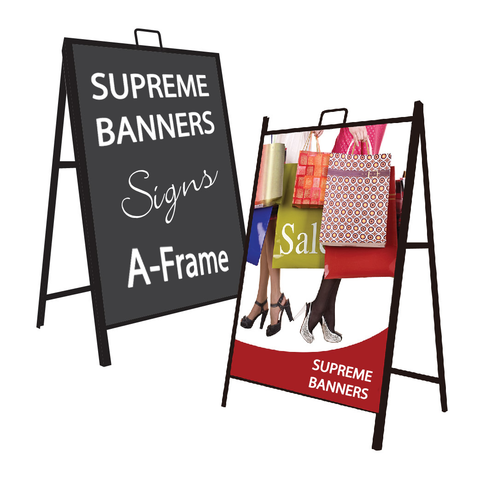 A Frame Sign - Supreme Banners