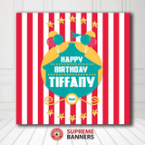 Custom Birthday Backdrop Template #11 - Supreme Banners