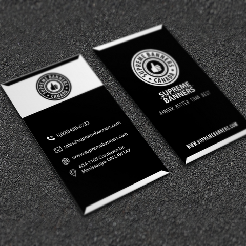 Business Card - Supreme Banners