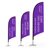 Custom Feather Flag - Supreme Banners
