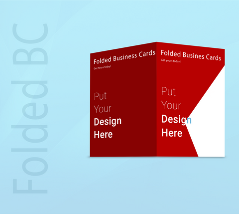 Folded Business Cards - Supreme Banners