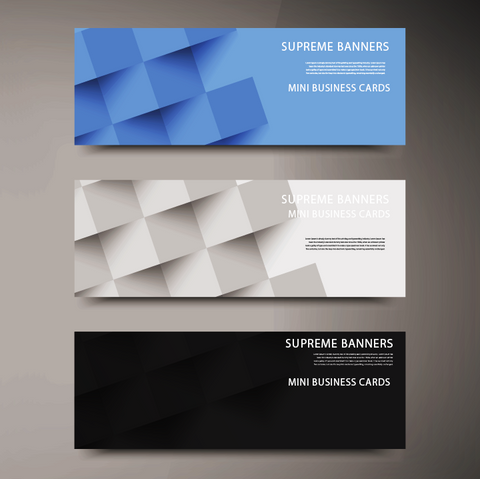 Mini Business Cards - Supreme Banners