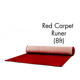 8ft W x 3.3H Red Carpet - Supreme Banners