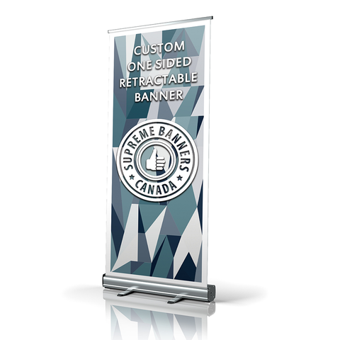 One Side Retractable Banner - Supreme Banners