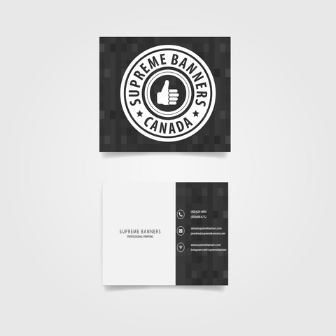 Mini Square Business Cards - Supreme Banners