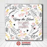 Custom Wedding Backdrop Template #11 - Supreme Banners