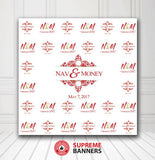 Custom Wedding Backdrop Template #8 - Supreme Banners
