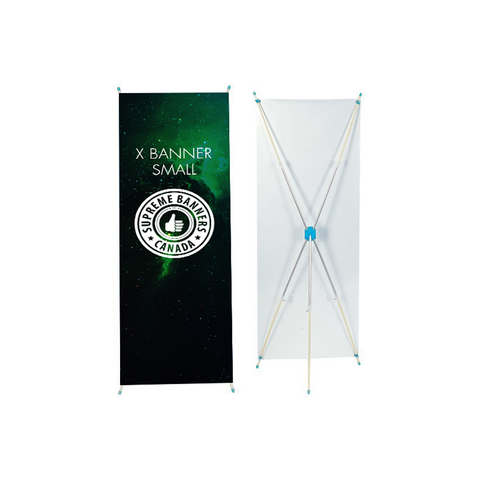 X Banner (Small/Large) - Supreme Banners