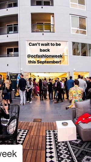OCfashionweek in California