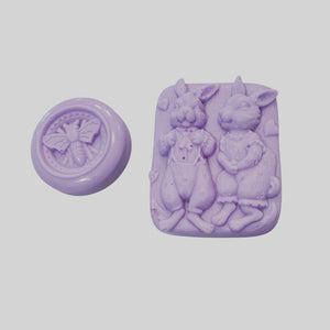 Easter Lavender Soaps (set of 2)