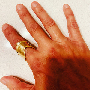 Gorgeous Brass Ring