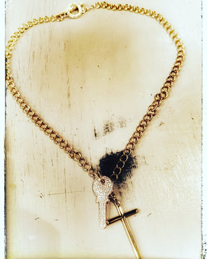 The Key is God Necklace