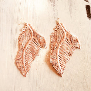 Soft and Sexy Rose Gold color angel wings!