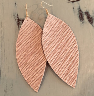 Softest Pink Leather ear vacay