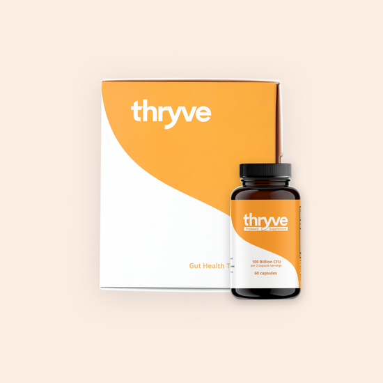 Thryve Gut Health Bundle | 1x Gut Test Kit | 1 month Probiotics Subscription (shipped after receiving test results)