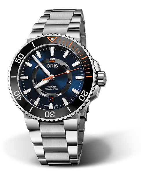 ORIS AQUIS ORIS STAGHORN RESTORATION LIMITED EDITION 01 735 7734 4185-Set MB