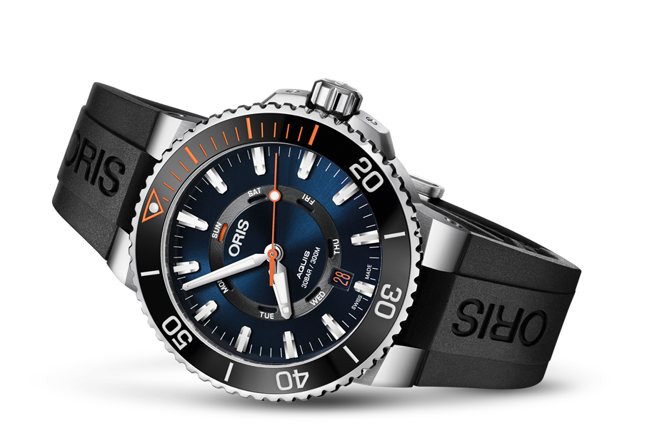 ORIS AQUIS ORIS STAGHORN RESTORATION LIMITED EDITION 	01 735 7734 4185-Set RS