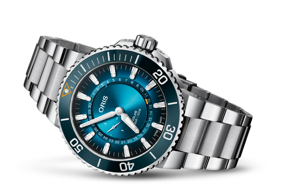 ORIS AQUIS GREAT BARRIER REEF LIMITED EDITION III 01 743 7734 4185-Set