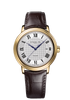 RAYMOND WEIL MAESTRO YELLOW GOLD ON BLACK LEATHER