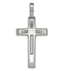 STERLING SILVER FANCY CROSS