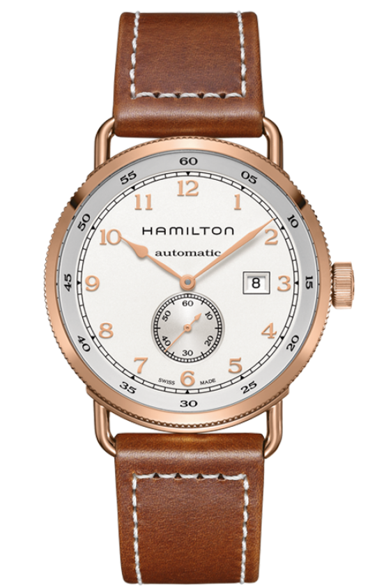 HAMILTON KHAKI NAVY PIONEER SMALL SECOND AUTO H77745553