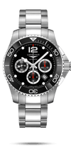 LONGINES HYDROCONQUEST CERAMIC 41MM CHRONOGRAPH L37834566