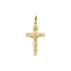 YELLOW GOLD CRUCIFIX