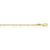 YELLOW GOLD SOLID ANCHOR LINK CHAIN