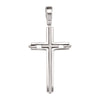WHITE GOLD CROSS