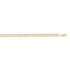 YELLOW GOLD SOLID OPEN LINK CHAIN