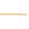 YELLOW GOLD SOLID BISMARK LINK CHAIN