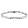 WHITE GOLD DIAMOND TENNIS BRACELETS (AVAILABLE IN VARIOUS STONE SIZE).