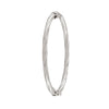 STERLING SILVER TWISTED CHILDRENS'S BANGLE