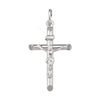 WHITE GOLD CRUCIFIX