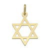YELLOW GOLD STAR OF DAVID