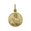 YELLOW GOLD ST. RITA MEDAL