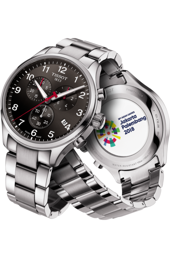 TISSOT CHRONO XL CLASSIC ASIAN GAMES EDITION T1166171105702