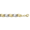 WHITE GOLD HOLLOW FANCY BRACELET