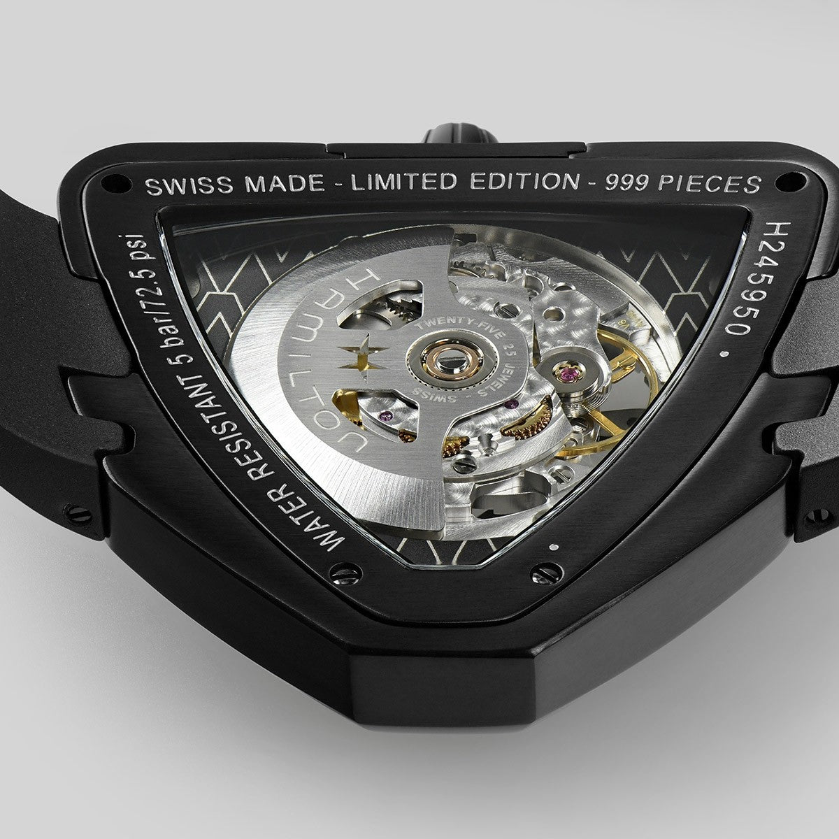 HAMILTON VENTURA SKELETON AUTO LIMITED EDITION