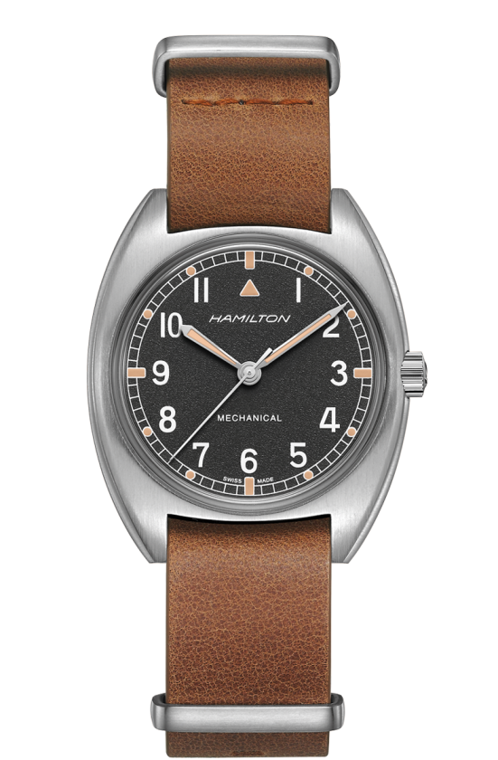 HAMILTON KHAKI AVIATION PILOT PIONEER MECHANICAL H76419531