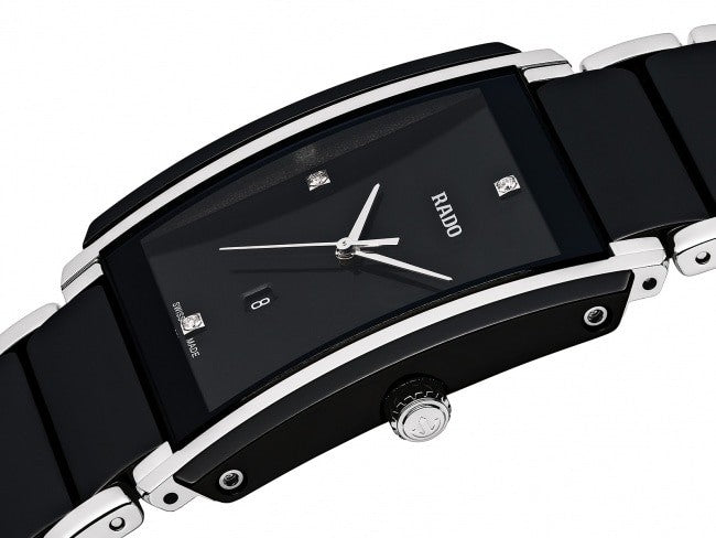 RADO INTEGRAL DIAMONDS BLACK CERAMIC BLACK DIAL R20206712