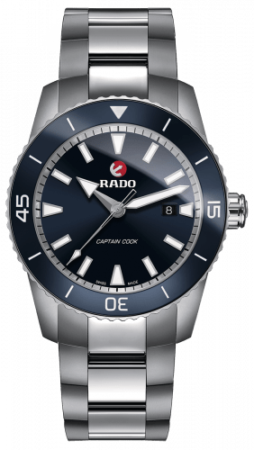 RADO CAPTAIN COOK BLUE DIAL R32501203
