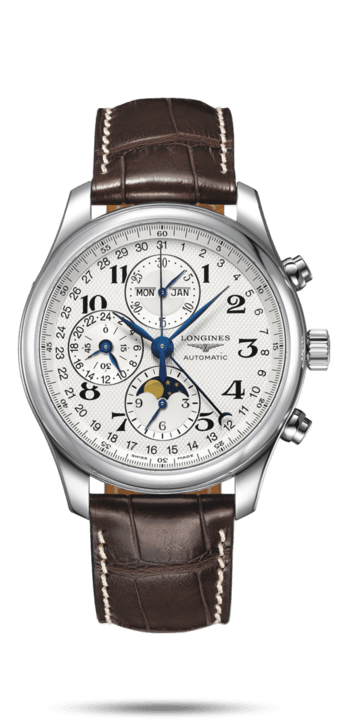 LONGINES MASTER COLLECTION 42MM CHRONOGRAPH WITH MOON PHASE L27734783